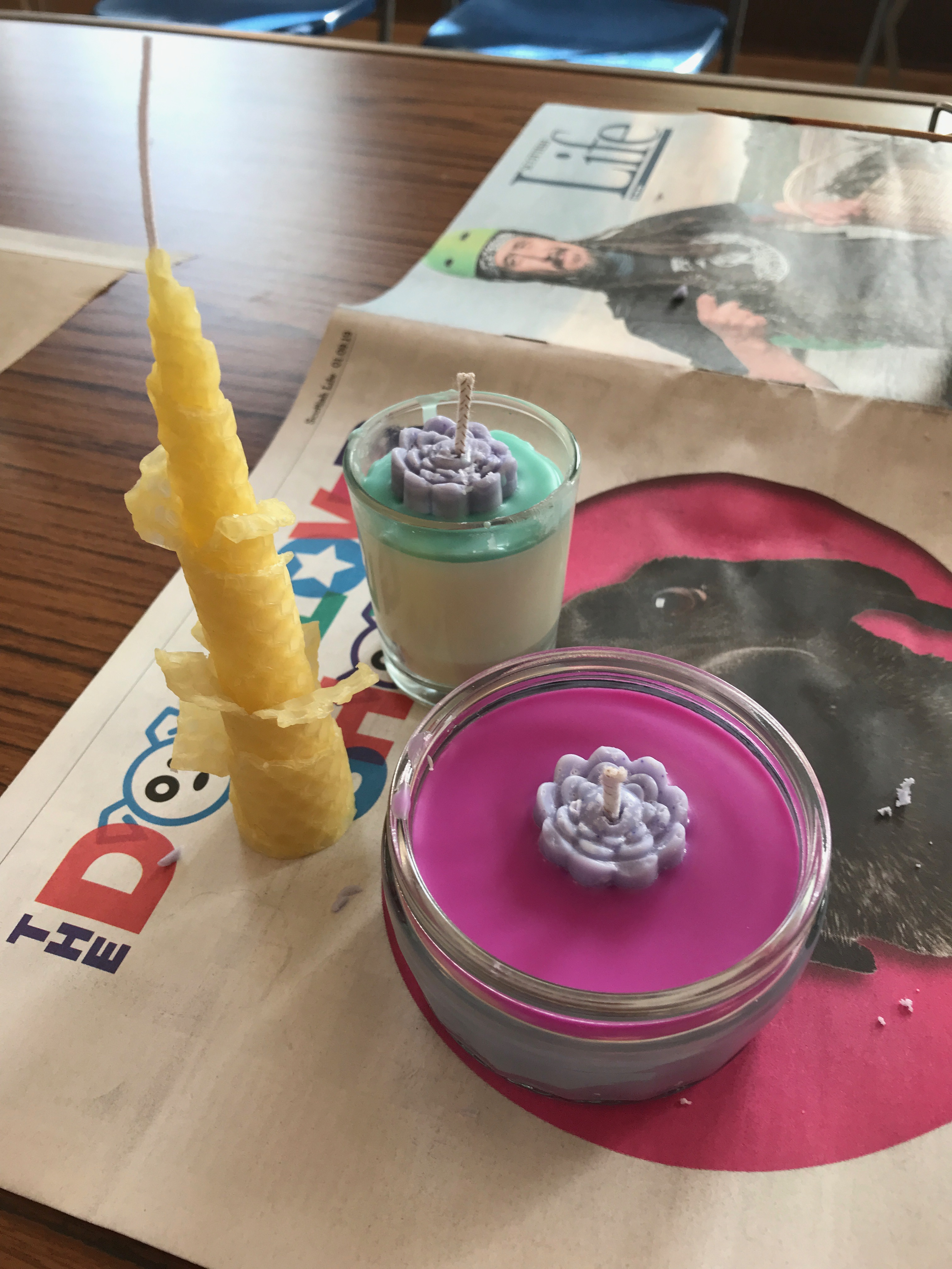 test candles